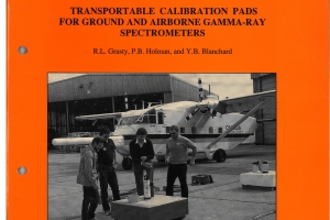 Transportable Calibration PADs for  ground and airborne Gamma-ray Spectrometers